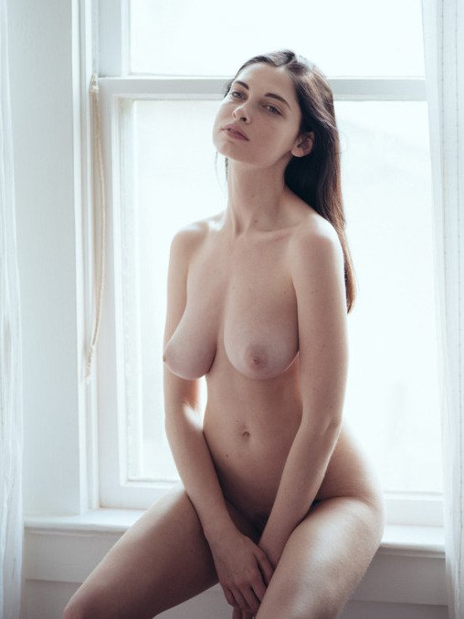 young nude girl topless tits photo 12