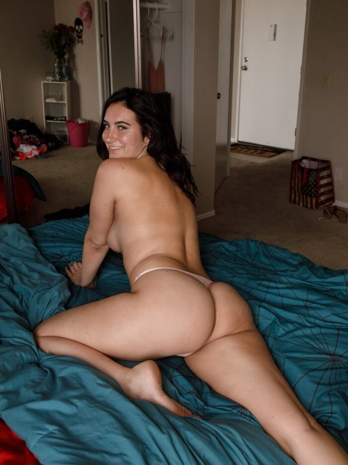 Sidney Alexis topless sexy amateur girl