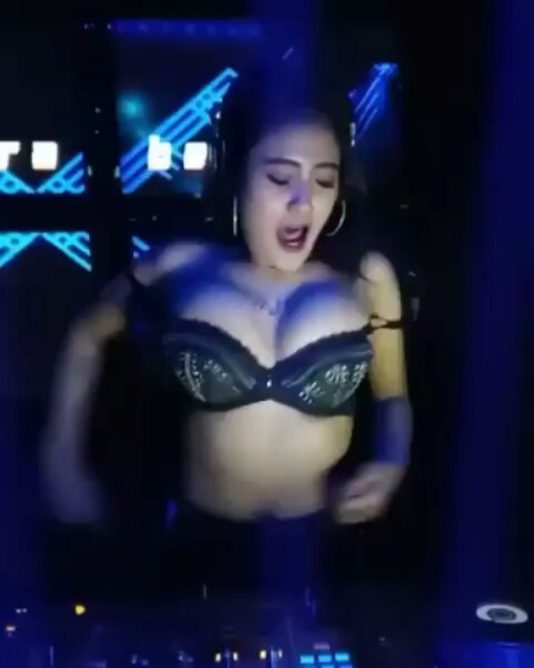 Asian big tits DJ sexy
