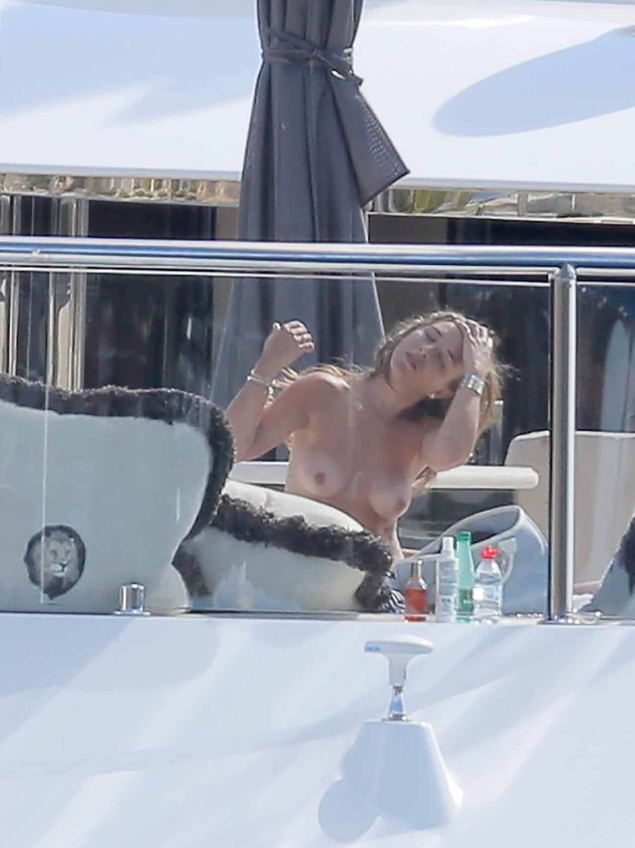 Chloe Green topless celebrity