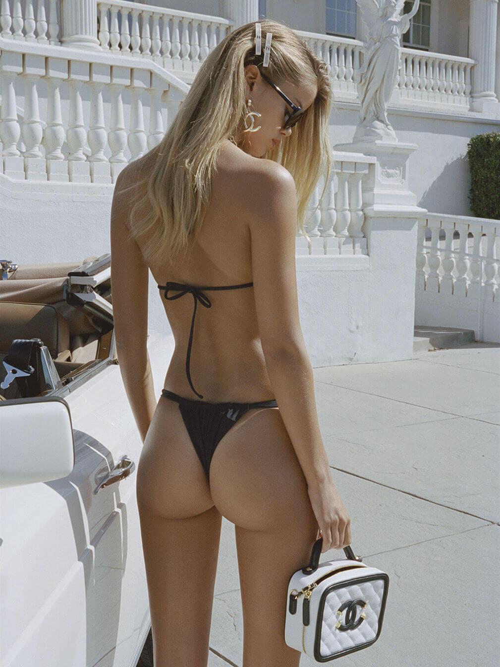 Frida-Aasen sexy ass in thong