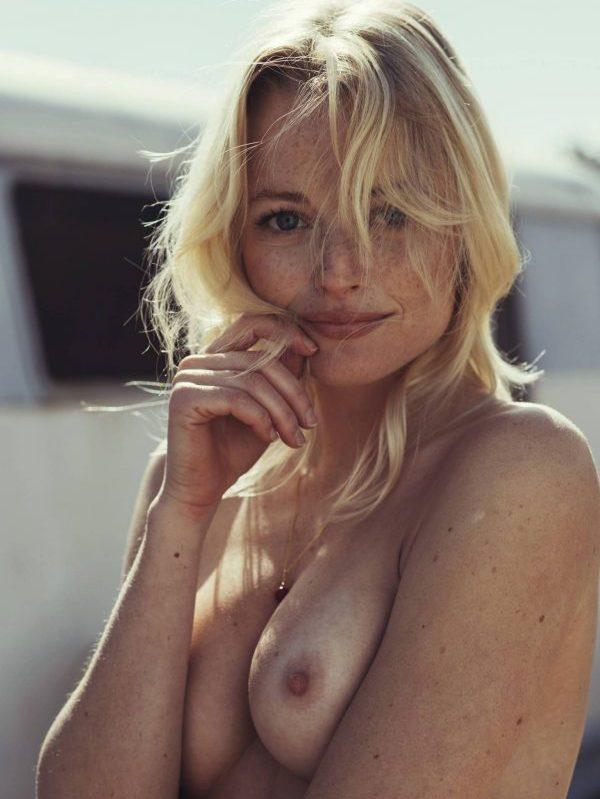 Megan-Samperi topless