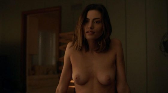 PHOEBE TONKIN FIRST EVER NUDE SCENE! THE AFFAIR
