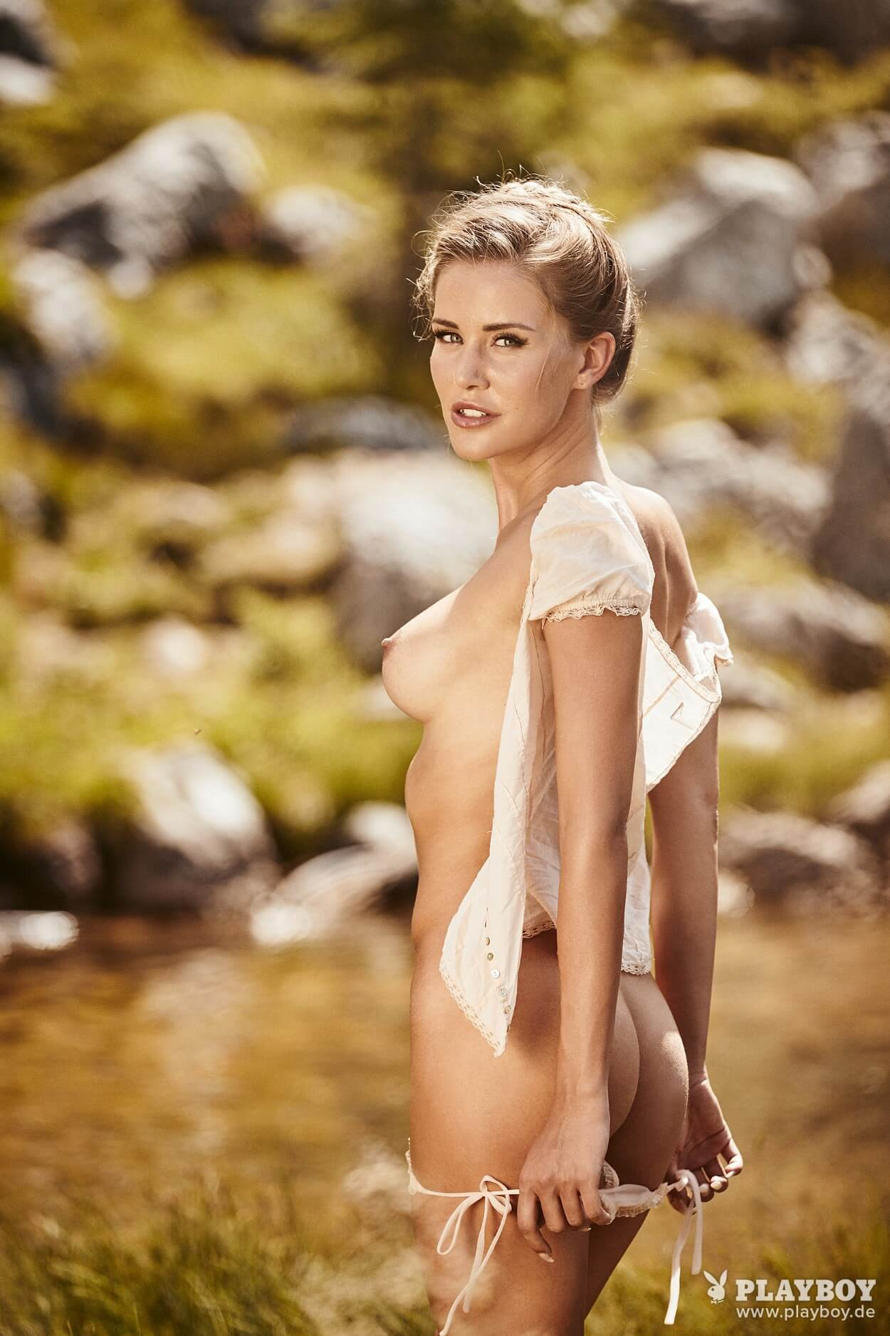 Julia Prokopy - German Playmate of the Month for October ...