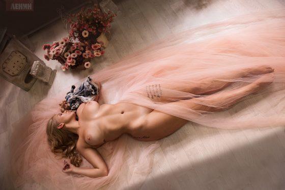 Elizaveta Barysheva nude shot by Sergey Lenin-7