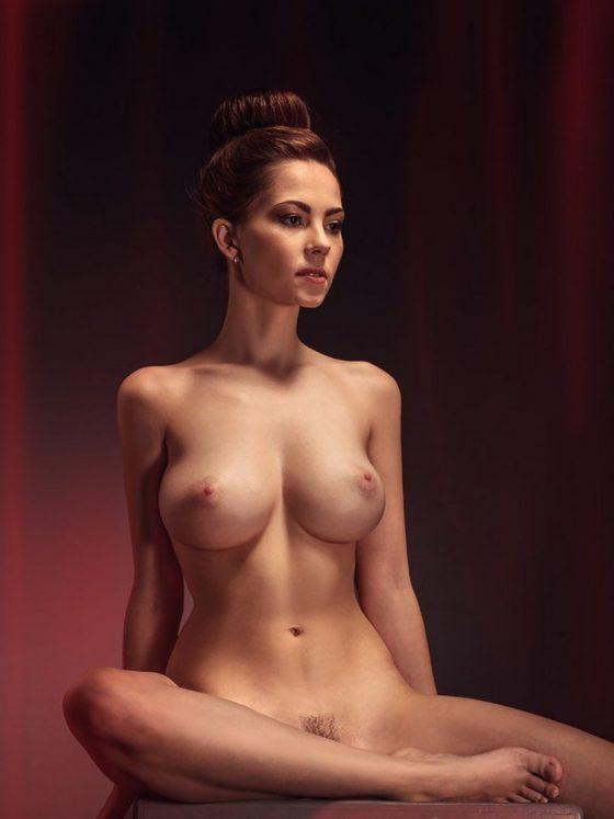 busty babe Ksenia Egorova-nude-model-3