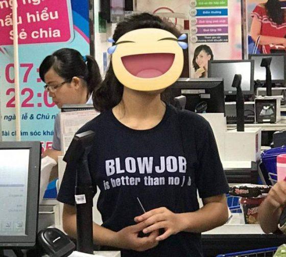 girl funny blouse