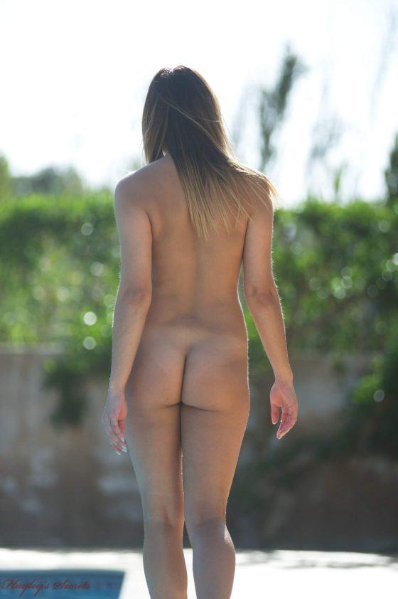 British babe glamour nude model