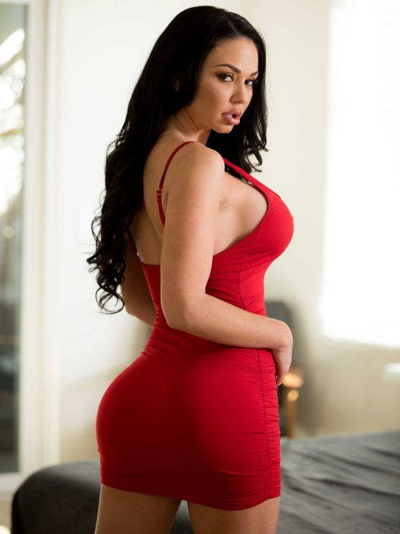 Brooke Beretta red dress
