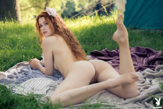 Playboy model nude shot 11