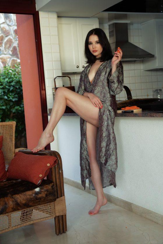 MetArt Malena nude Asian erotic girl 1
