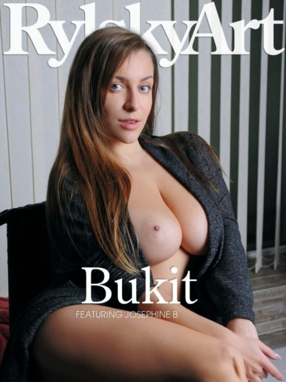 Josephine B topless model cover