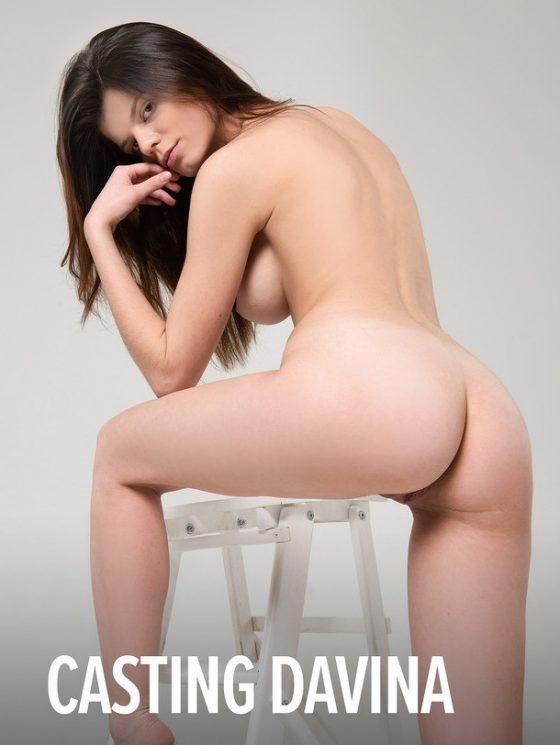 Ukrainian girl with hot ass naked shot