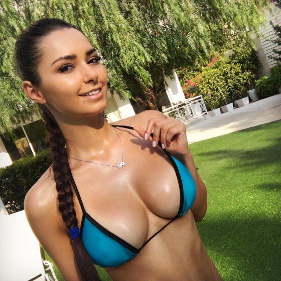 Helga Lovekaty tits bikini