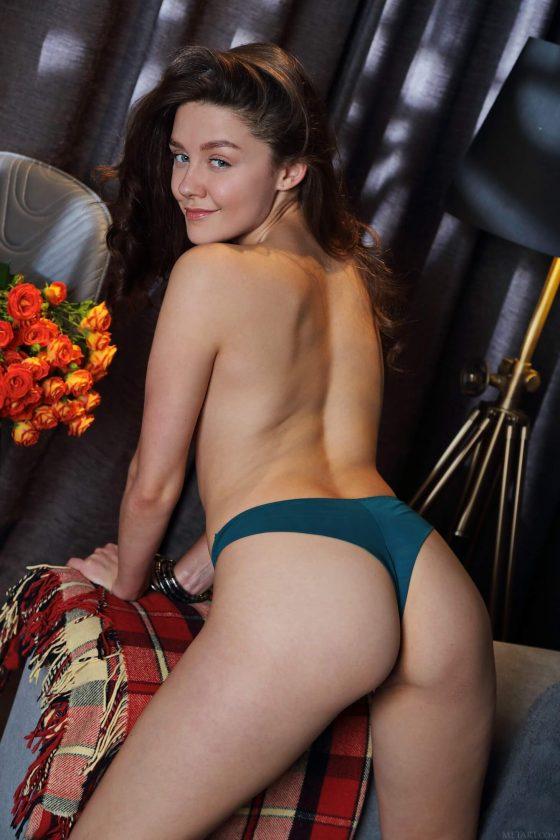 sexy girl topless thong ass