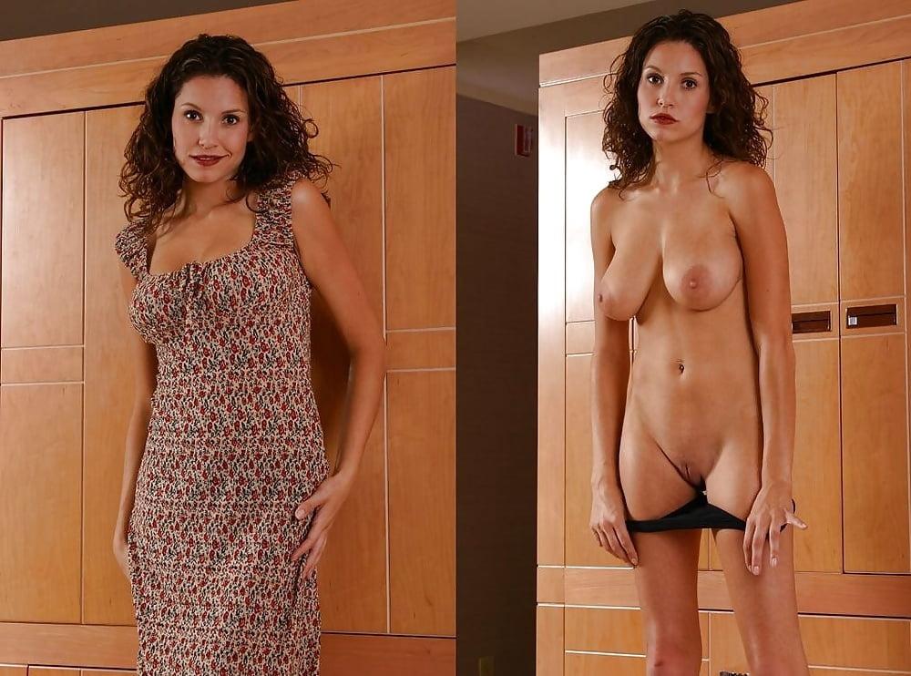 Dressed undressed nude photos