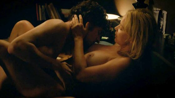 Hot tits actress Virginie Efira nude sex scene