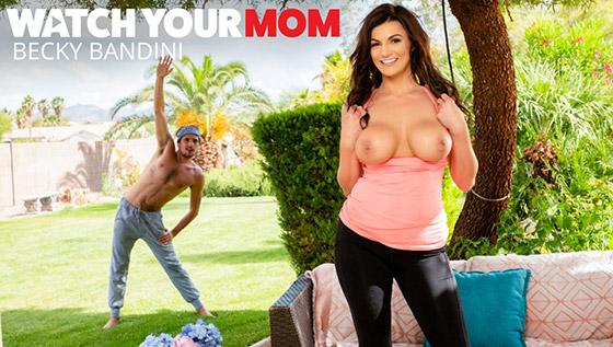 busty woman sexy mom