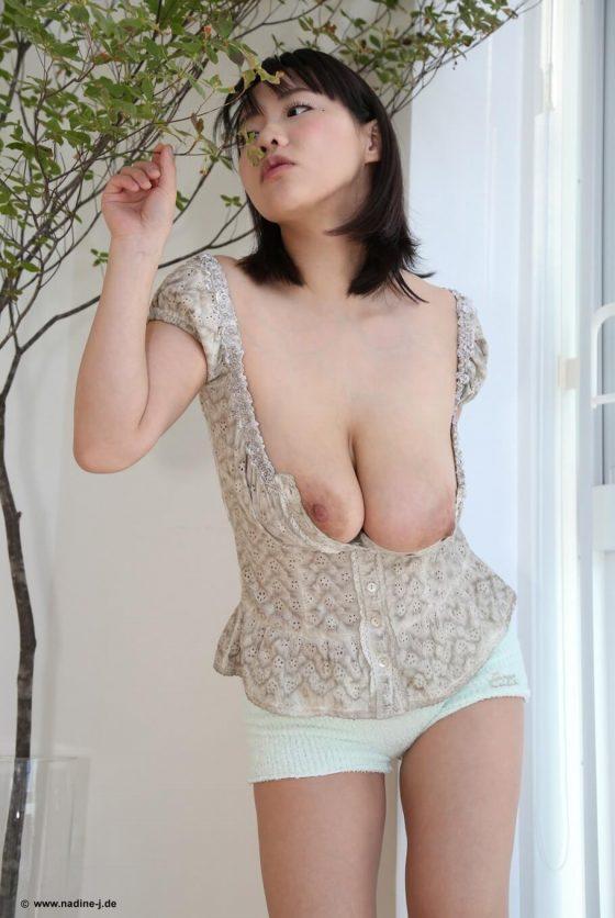 Kaho Shibuya nude big tits Asian porn babe pic 3