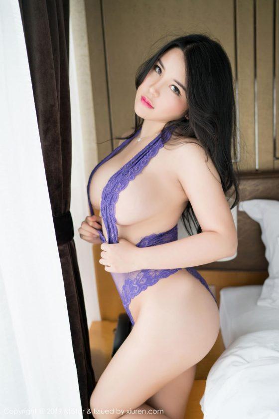 Xiuren Asian model big tits Sukki by Mistar shot 3