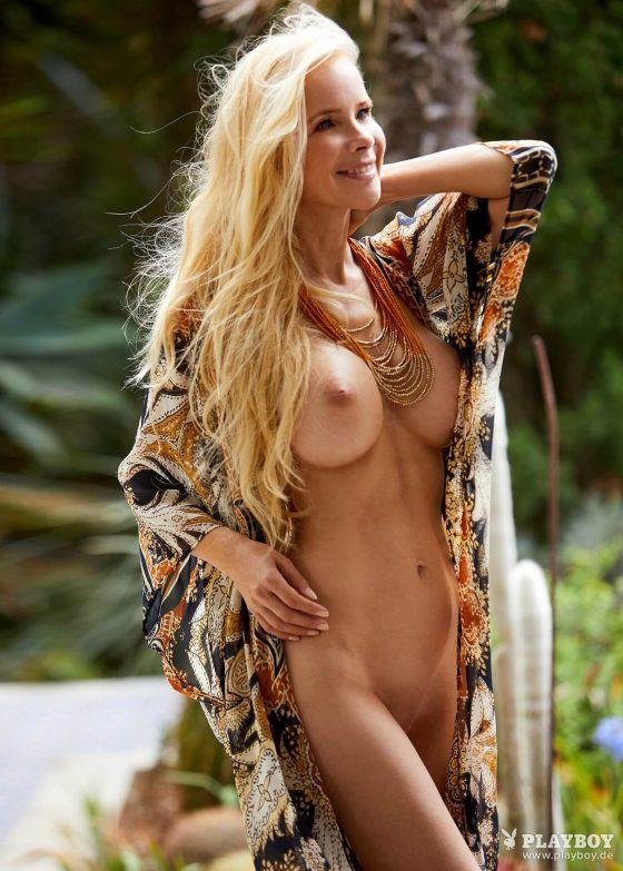 Busty German celebrity Sylvia Leifheit nude playboy-photo-3