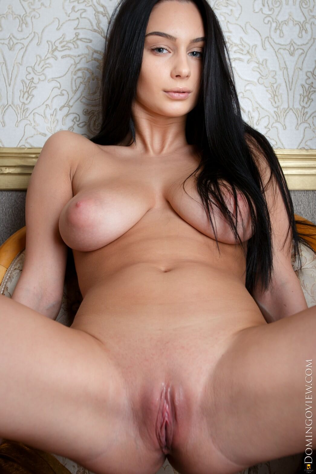 DomingoView Blera - Elegant Big Tits Babe Poses Naked (12 ...