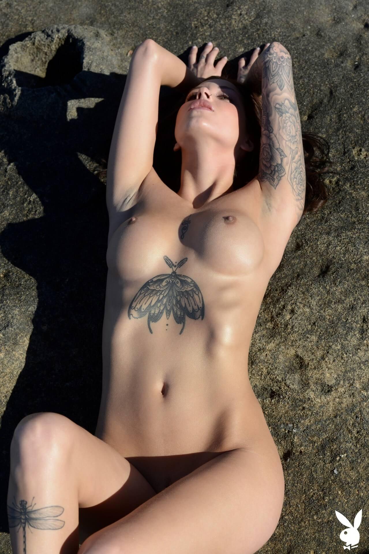 Tattoo model nude 100 Sexiest