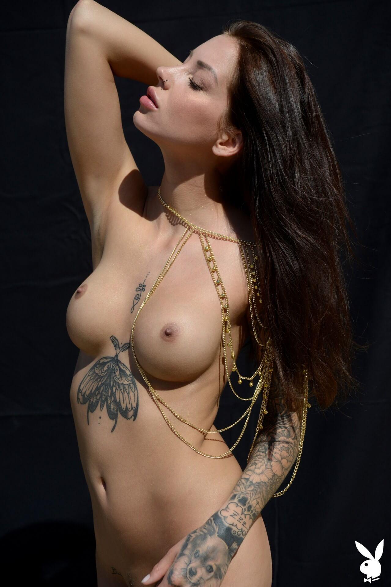 Model nude tattoo 100 Sexiest