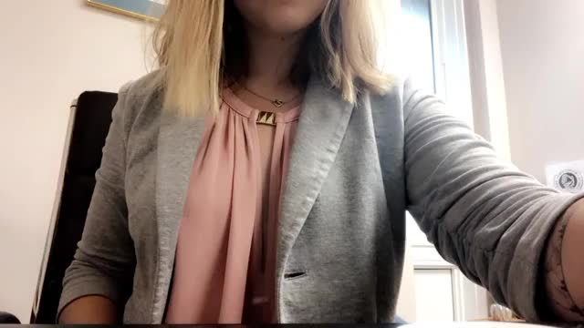 Girl Goes Wild at Work by showing her tits! (gif)