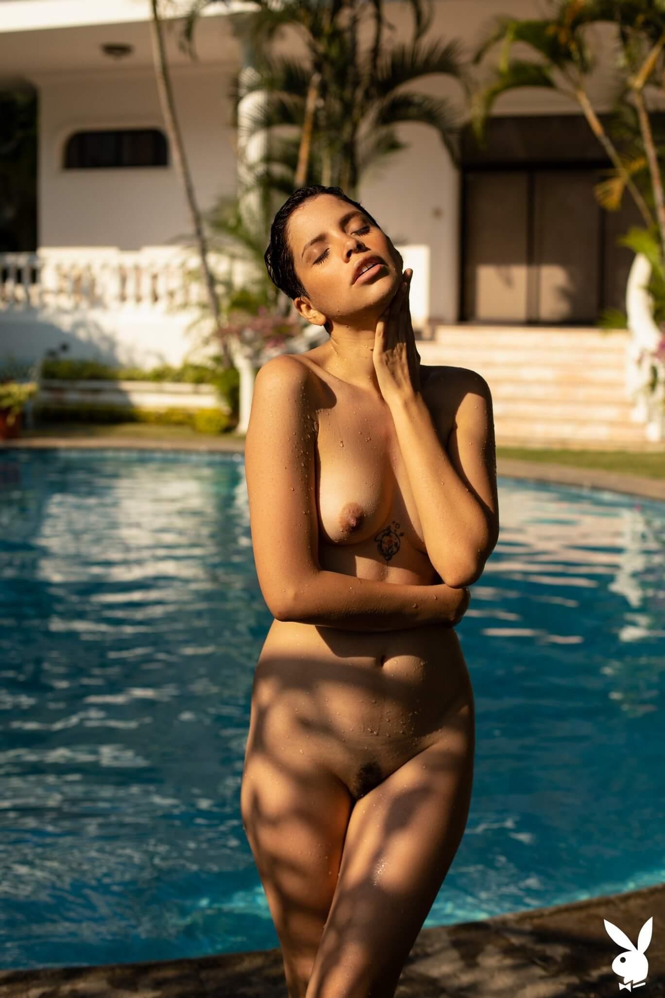Playboy - Alejandra La Torre Summer Song (12 photos ...