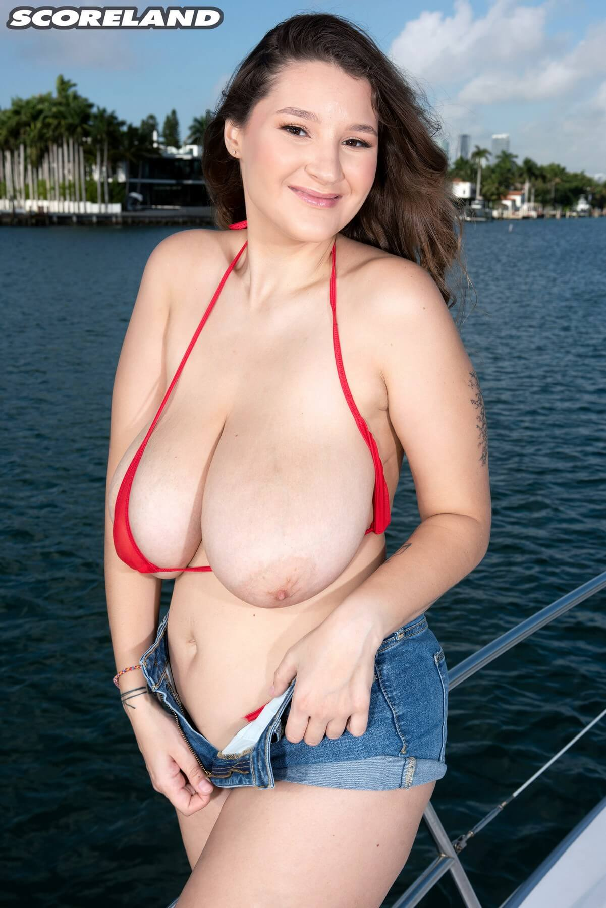 Porn galleries big boobs falling out of bikinis