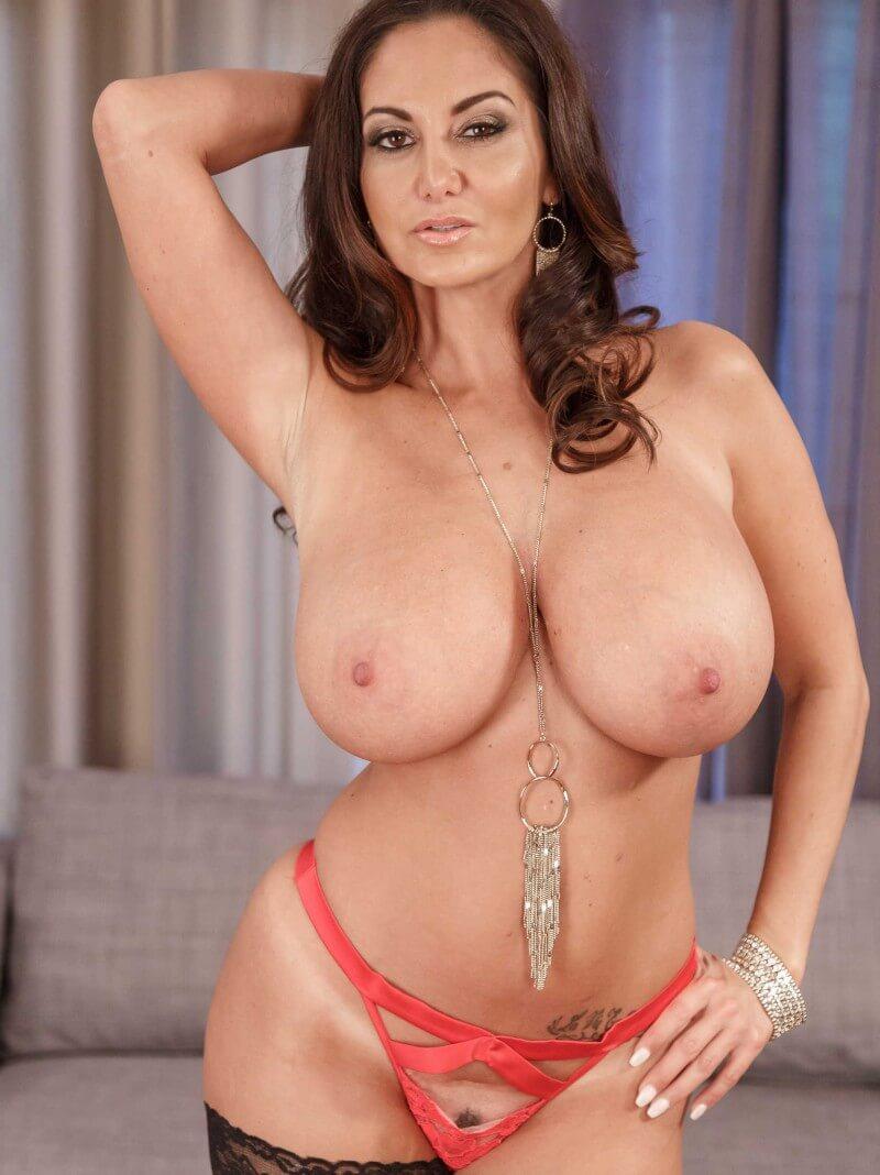 busty pornstar topless