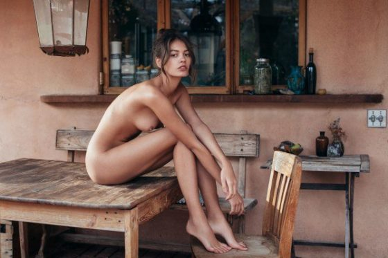 Beate Muska beautiful nude model