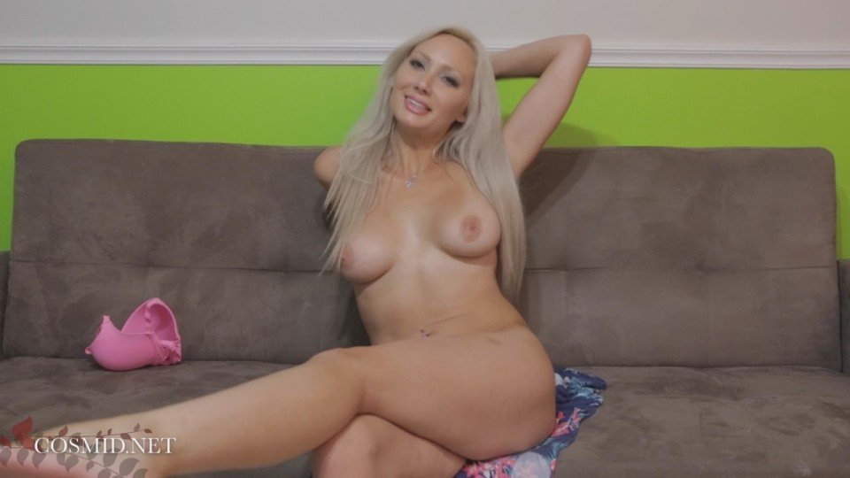sexy blonde Brittney Park naked on casting