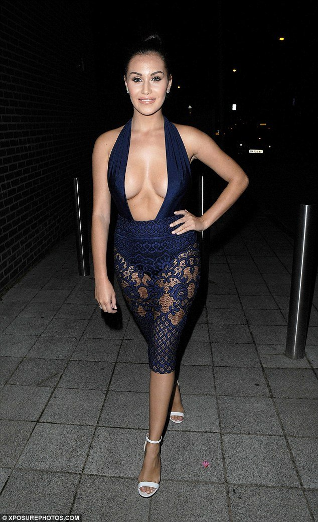 Chloe Goodman boobs sin sexy dress