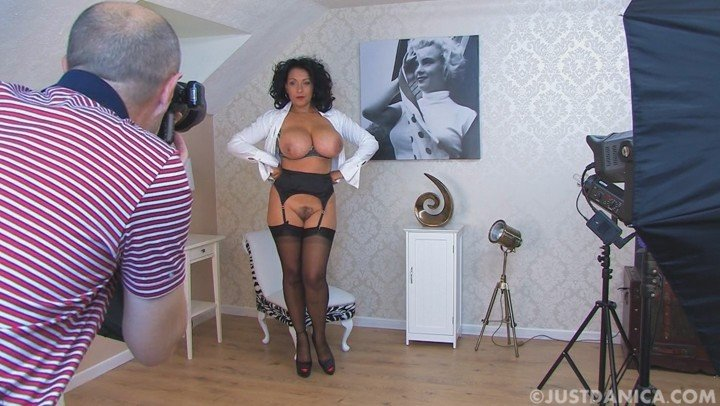 mature busty pornstar Dnica Collins nude stockings