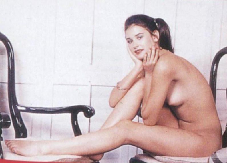 Demi moore nude self pics