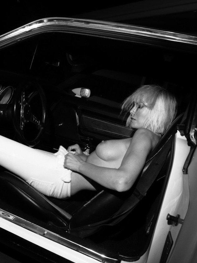 hot-titted Eugenia Kuzmina topless pose