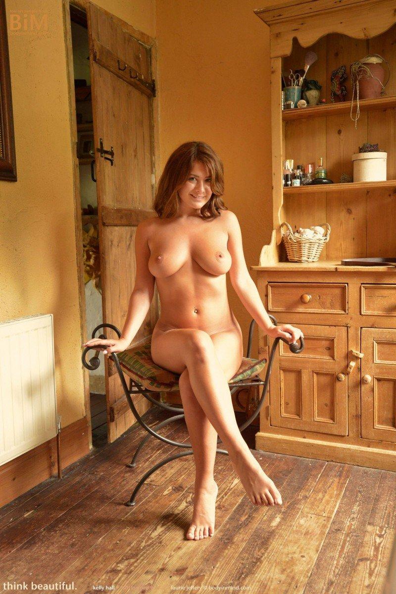 Hall naked