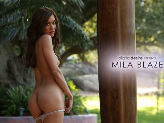 Mila Blaze naked hot ass