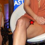 Hot Actress Nina Bott Upskirt (2 photos)