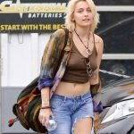 Paris Jackson Braless Poking Pierced Nipples (5 photos)