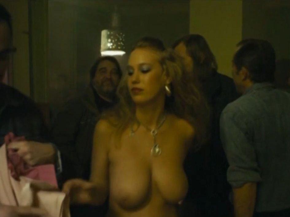 busty actress Aneta Krejcikova topless