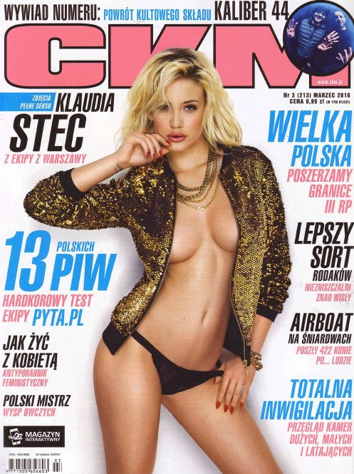 Klaudia Stec sexy CKM cover girl