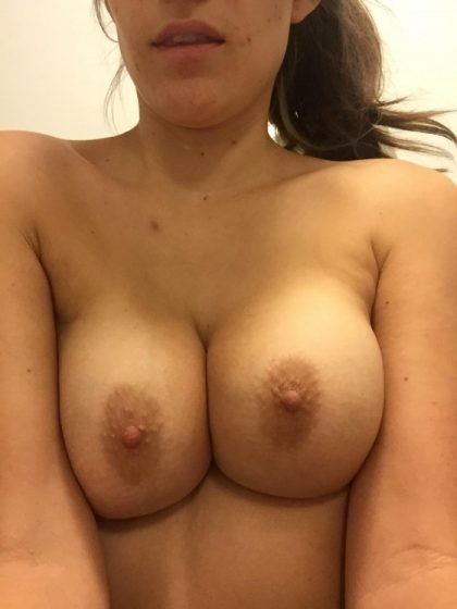 naked boobs of hot young amateur