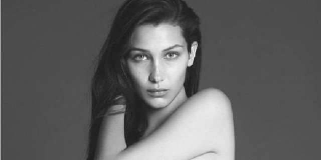Bella Hadid Nude, Showing Extremely Seductive Curves