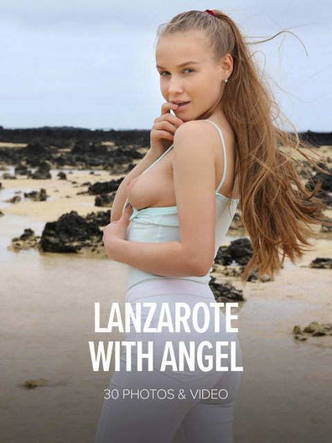 Angel B Lanzarote poster by Watch4Beauty