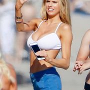 Charlotte McKinney big breats in small bikiin bra