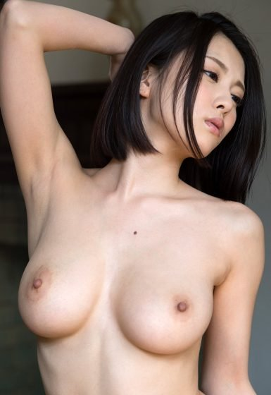 Japanese girl with big tits naked