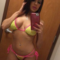Darcie Dolce just posted a sultry bikini selfie